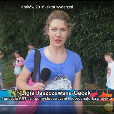 Festiwal Graffiti i Sztuk Młodzieżowych – Kraków 2016 – video- skrót wydarzeń