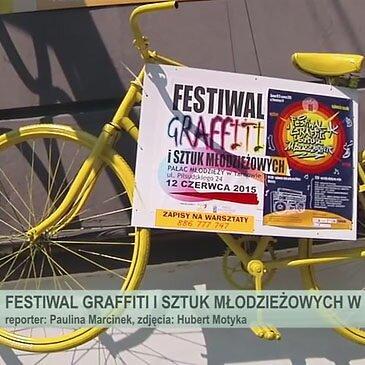 Festiwal Graffiti i Sztuk Młodzieżowych – Tarnów 2015 – video