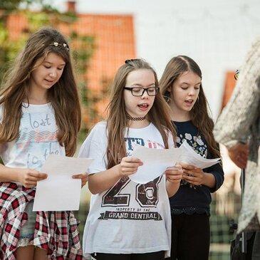 Warsztaty gospel – radość śpiewania – Festiwal Graffiti i Sztuk Młodzieżowych- Zielonki 2016