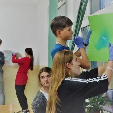 Warsztaty streetartowe z Wyspiańskim – Festiwal Graffiti i Sztuk Młodzieżowych- Bibice 2017