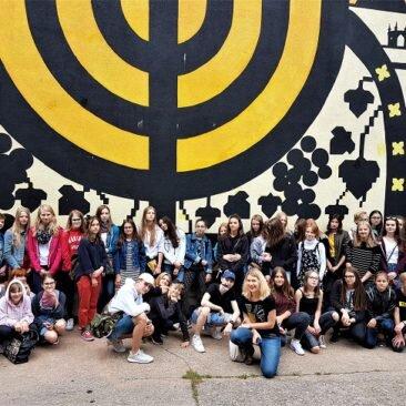 Wycieczka Szlakiem Krakowskiego Street Artu- Festiwal Sztuk Młodzieżowych – Zabierzów 2018