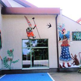 Oficjalne odsłonięcie muralu 40-lecia – Zielonki, 7.09.2019, ok godz.12:45